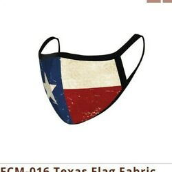 FASHION FACE MASK  - Washable - Reusable - Montana West Style Texas Flag $12.74