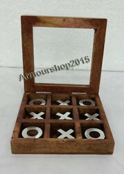 Wooden Travel Games Various Tic Tac Toe Football Golf Noughts And Crosses
