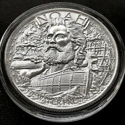 Noah's Ark - Two By Two 1 Oz .999 Silver Bu Round Bullion God Bible Round Coin