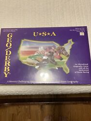 Geo Derby Usa- Horse Racing Educational Geography Game