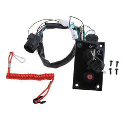 12v Outboard Single Engine Switch Panel For For Suzuki Yacht 37100-96j14