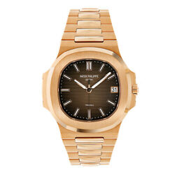 Patek Philippe Nautilus Tiffany and Co Rose Gold 40MM Watch 57111R-001