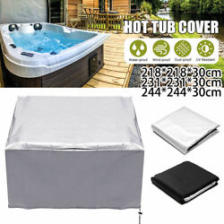 Hot Tub Spa Cover Cap Guard Waterproof Dust Protector Harsh Weather 5 Sizes New
