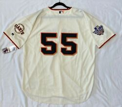 Authentic Russell Athletic Tim Lincecum San Francisco Giants On Field Jersey