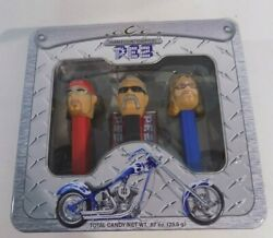 Orange County Choppers Pez Dispensers Set Of 3 Collector Tin