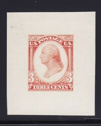 184-e13b Xf Scarce Essay Scarlet With Nice Color Scv 750 See Pic
