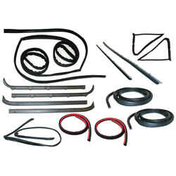 Glass Run Window Channel And Felt Sweep Belt And Door Seal Kit For 80-86 Ford Bronco
