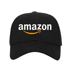 HOT! New Hat Amazon Logo Printed Baseball Cap One Size Fits All Adjustable $9.99