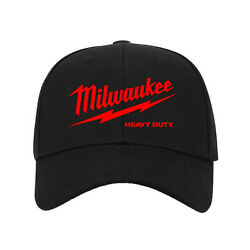 Hot New Hat Milwaukee Logo Printed Baseball Cap One Size Fits All Adjustable $9.99