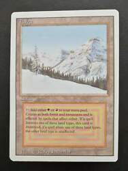 Magic The Gathering Mtg Revised Edition Taiga 1994 See Image Contact For Best P