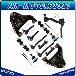 13x New Complete Front Suspension Kit Fits Gmc Sonoma Chevy Blazer S10 4x4 98-05