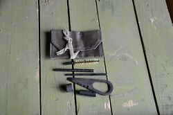 Vintage Soviet Original Russian Mosin Nagant 91/30 Cleaning Kit And Pouch