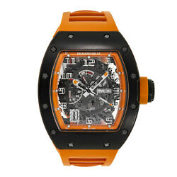 Richard Mille RM030 Americas Limited Edition Orange Black Carbon 50MM Watch