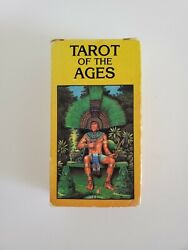 1988 Tarot Of The Ages - U.s. Games Systems 78 Card Tarot Deck Excellent