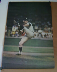 1968 Denny Mclain Tigers Sports Illustrated Poster W/order Form For More Posters
