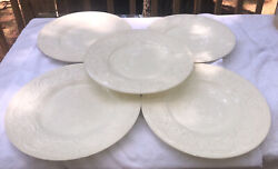 Lot Of 5 Vintage Wedgwood Patrician Dinner Plates
