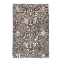5and03910x8and03910 Gray Willow And Cypress Tree Design Afghan Wool Handknotted Rug G55153