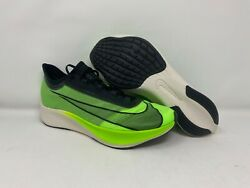 Zoom Fly 3 Men's Running Shoes AT8240-300 Size 8-14 Electric Green New $84.99