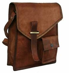 Bag Leather Vintage Messenger Shoulder Men Satchel S Laptop School Briefcase New $41.39
