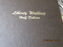 P[1 Set Walking Liberty Half Dollars 1916 -47 65 Coins U S Shipping Only