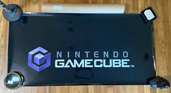 Very Large Vintage 2'x4' Nintendo Gamecube Toysrus Store Display Sign Magnet New