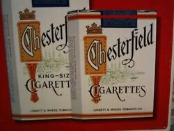 Vintage Chesterfield Cigarette Advertising Sign