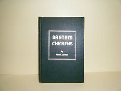 Bantam Chickens by Fred P. Jeffrey 1983 Second Edition Hardcover Book Poultry