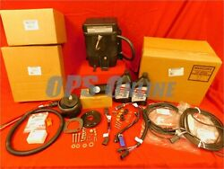 New Mercury Verado Dual Eng Steering Kit W/harnesses Part 8m0151556 And 8m0150103