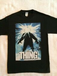 John Carpenters 1980's The Thing Black T-shirt NEW Licensed Official  $17.95
