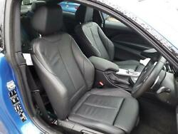 2019 Bmw 4 Series Lci Coupe Complete Interior - Black Leather With Black Thread
