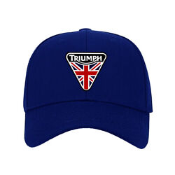 Hot New Hat Triumph Motorcycle Printed Baseball Cap One Size Fits All Adjustable $9.99