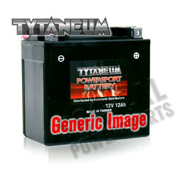 Tytaneum Maint-free Battery With Acid Harley Fxcw Softail Rocker 2008-2009