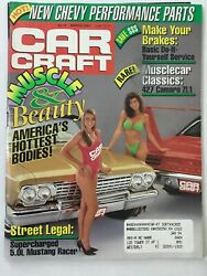 Car Craft Magazine March 1991 Muscle & Beauty Race cars Hottest Bodies #M104