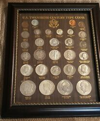 20th Century Collection Morgan+peace+barber+liberty+frame+many Nice Examples