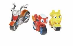 Ricky Zoom Maxwell And The Bike Buddies With Scootio 3 Piece Set Free Standing