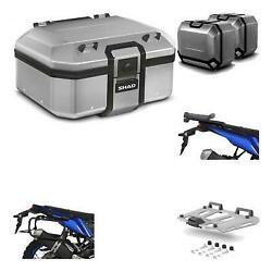 8391 - Lateral Cases + Back Trunk + Big Top Fitting + Grill Terra + 4p Hardware