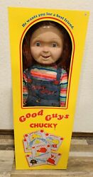 Nib Official Child's Play Good Guys Life Size Chucky Doll Spirit Sold Out Rare