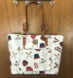 NEW DOONEY amp; BOURKE STL Saint Louis Cardinals MLB Large Tammy Tote Purse Bag $197.77