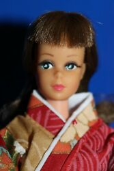 Vintage Barbie Japanese Francie - Original No Retouches With Hair String