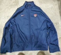 Rare Vintage 1999 Nike Usa Soccer Softshell Jacket Womens Size Xl 16-18 Only One