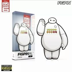 Big Hero 6 Baymax Pain Meter Figpin Xl Enamel Pin - Sdcc Ee Exclusive Sold Out