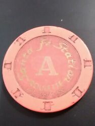2006 Santa Fe Station Casino Las Vegas Roulette Chip Great For Any Collection