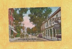 Nj Red Bank 1908-29 Antique Postcard Stores On Monmouth St Empire Elec