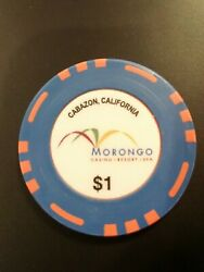 Morongo Casino Cabazon California 1.00 Chip Great For Any Collection