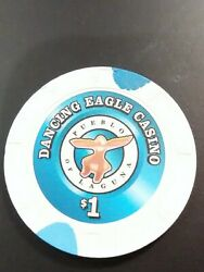 Dancing Eagle Casino New Mexico 1.00 Chip Great For Any Collection