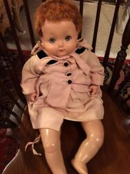 Rare Antique Effanbee F And B Doll - 1917-1920