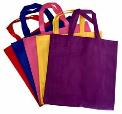 5 Pack Promo Tote Bags Reusable Grocery and Travel Totes Party Favor Gift Bags $9.88