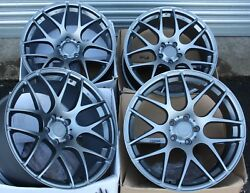 19 Grey Fox Ms007 Alloy Wheels Fits Land Range Rover Discovery Sport Bmw X5 E53