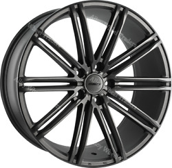 19 Grey Cc-i Alloy Wheels Fits Bmw 8 Series E31 Coupe Old Skool Wider Rear