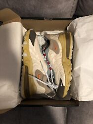 Nike Air Max 270 React Eng Travis Scott Cactus Trails Size 11 Pre Owned